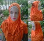 Grosir Jilbab Syiria Mawar Gelombang