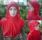 Model Jilbab Instan Syahrini