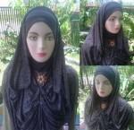 Grosir Jilbab Sosor Serat Kayu