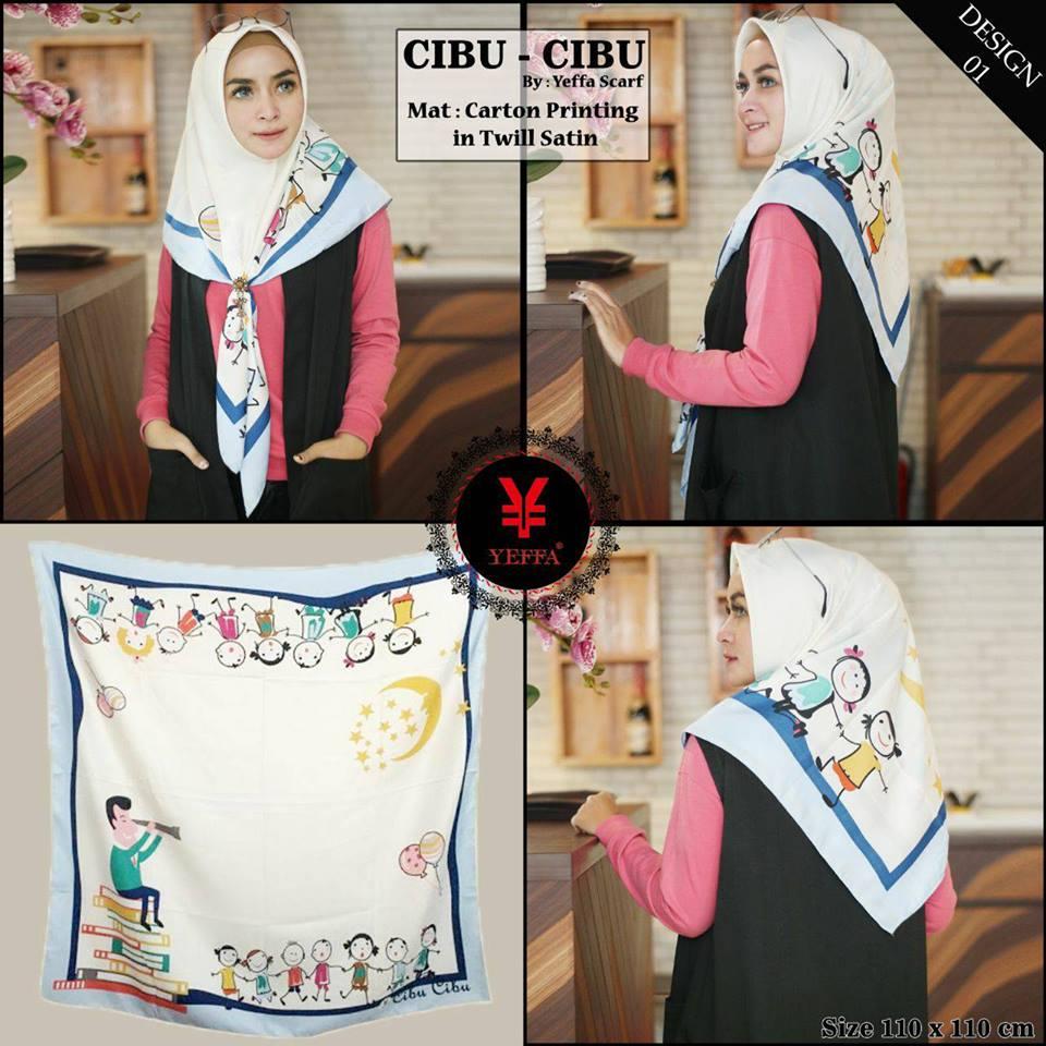 Cibu Cibu design 1 SG Jilbab