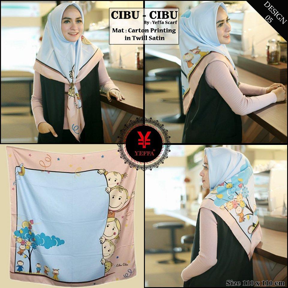 Cibu Cibu design 5 SG Jilbab