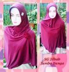 Grosir Jilbab SG Jumbo Bunga