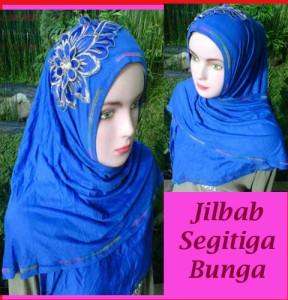 Grosir Jilbab Segitiga Bunga