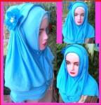 Grosir Jilbab Fatin List Bunga