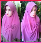 Grosir Jilbab Jersey Jumbo Bunga