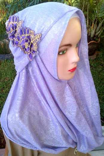 Grosir Jilbab fatin Paloma bunga, 30, 25, 23, 420