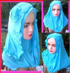 Grosir Jilbab Fatin Lady Gelombang