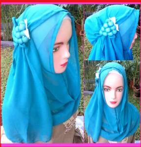 Grosir Jilbab Fatin Anggur