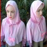 Grosir Kerudung jilbab lengan anak SD!27,23,20,330rb,bhn kaos