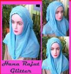 Grosir Jilbab Hana Rajut Glitter