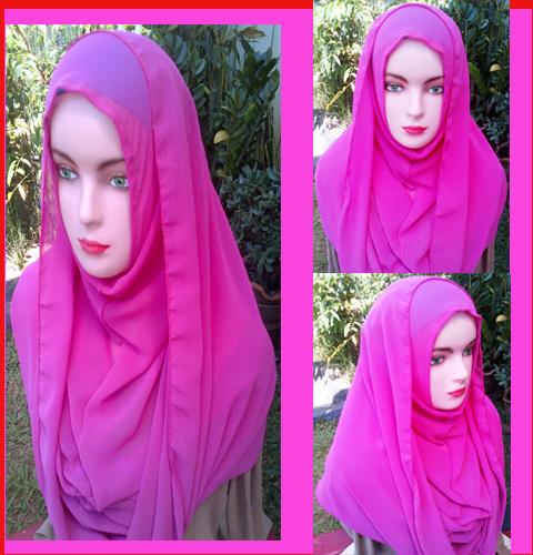 Grosir jilbab Fatin  Ceruty Shiren Sungkar