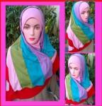Grosir Jilbab Fatin Rainbow