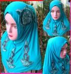 Grosir Jilbab Syiria Bunga Bordel