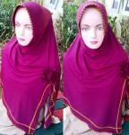Grosir Jilbab Jersey Belah Samping
