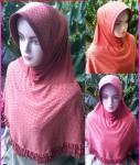 Grosir Jilbab Bergo Merah Bata