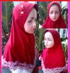 Grosir Jilbab Gothik Anak (4-7 tahun)