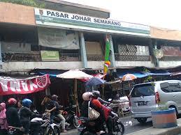 Pusat Grosir Pasar Johar Semarang Jawa Tengah