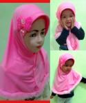 Grosir Jilbab Anak Gothic Bulu