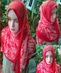 Grosir Hijab Pashmina Payet LV