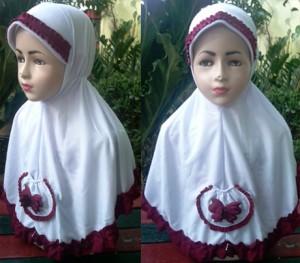 Grosir Jilbab Seragam SD SAKU