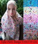 Grosir Hijab Paris Sofia Bunga