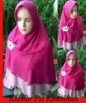 Grosir Jilbab Khimar Pet Kombinasi