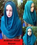 Grosir Arabian Hood Rayon
