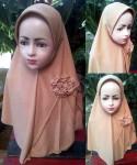 Grosir Jilbab Bunga Mentari Anak
