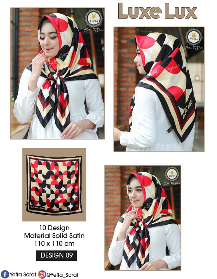 Luxe Lux 27 30 40 490 SG Jilbab 09