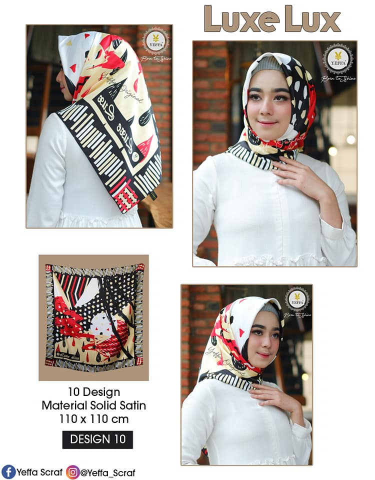 Luxe Lux 27 30 40 490 SG Jilbab 10