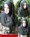 Grosir Pashmina Arabia Chanel