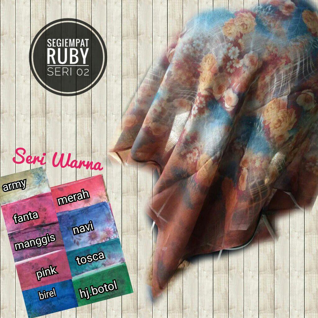 Segiempat Ruby 02, 17 19 25 280 SG Jilbab
