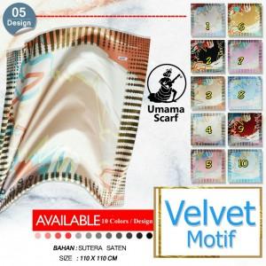 SegiEmpat Umama Velvet Motif 0517