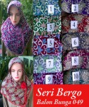 Grosir Bergo Balon Bunga 049