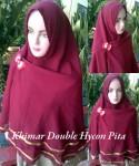 Grosir Khimar Double Hycon Pita