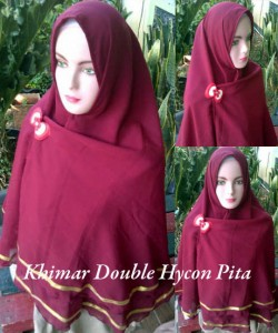 Khimar double hycon pita