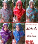 Grosir Hijab Melody by Red Rose