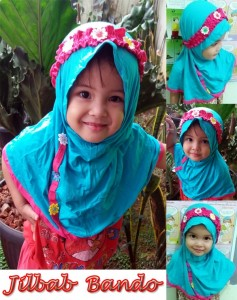 Jilbab Anak Bando SG Jilbab Anak