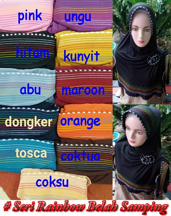 Seri Rainbow Belah Samping copy