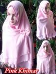 Grosir Jilbab Pink Khimar
