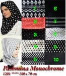 Pashmina Monochrome 1201