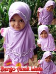 Jilbab Bergo Anak Lista