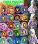 Hijab Segi Empat Rawis Pelangi