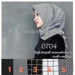 Hijab Segi Empat Monochrome