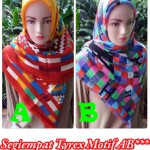 Grosir Pashmina Bubble Pop