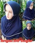 Jilbab Seragam SMP Dongker