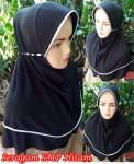Jilbab Seragam SMP Hitam