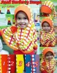 Jilbab Anak Burberry Bunga