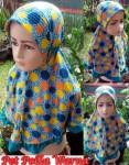Jilbab Anak Pet Polka Warna