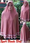 Grosir Jilbab Syar'i Renda Dua